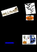 Invitation til Halloweenfest 2015