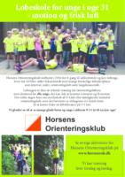 flyer Løbeskole for sjov 2016