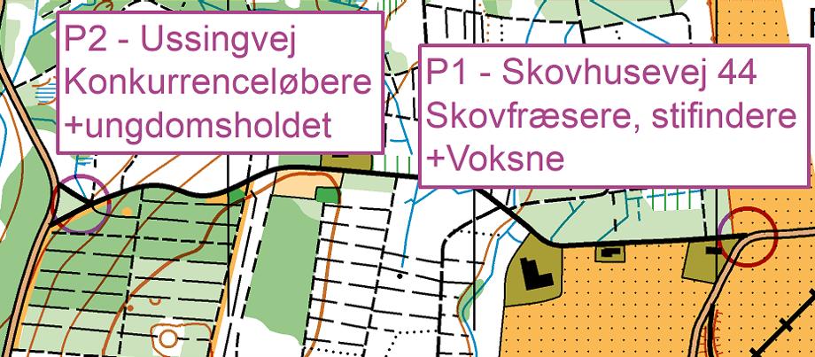 Orienteringstræning @ Ussinggård